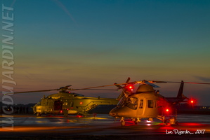 Belgian Air Force - NH90 & A109 Agusta