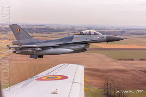 Belgian Air Force - F-16 - Close Formation