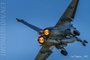 French Navy - Rafale M - Afterburner