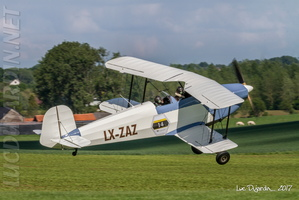 Bücker 131 Jungmann - Take off