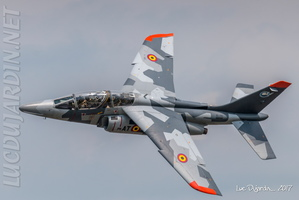 Belgian Air Force - Alphajet - Break