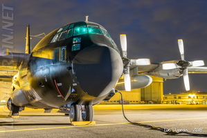 Belgian Air Force - C-130 - CH-10 at night