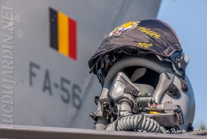 Belgian Air Force - F-16 Pilot JHMCS Helmet