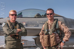 Belgian Air Force - F-16 Pilots