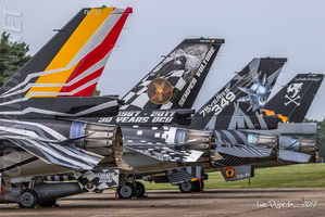 Belgian Air Force - F-16 Colored Tails