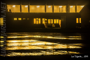 Belgian Air Force - Hangar by Night