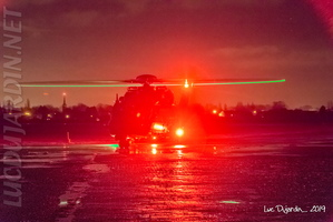 Belgian Air Force - NH90 Night Flight