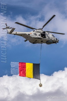 Belgian Air Force - NH90 with national flag